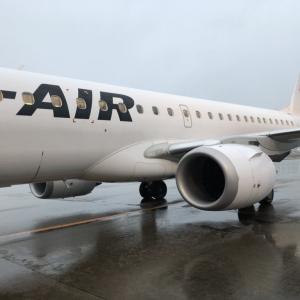 日本航空 JAL175便 羽田空港発 山形空港行 搭乗記 シート 機内サービス等 2020年1月