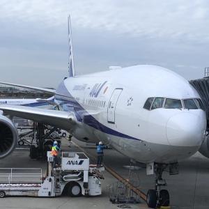 全日空 ANA015便 羽田空港発 伊丹空港行 搭乗記 座席 機内サービス等 2020年1月