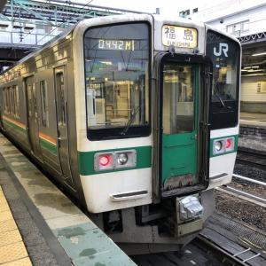 奥羽本線(JR山形線)442M 米沢駅から福島駅へ乗車記 峠駅の名物「峠の力餅」