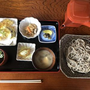 鶴岡市越沢 越沢そば処 まやのやかた 季節限定!寒ざらし越沢そばを味わう!