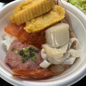 青森駅前でご当地グルメ食べ歩き!生姜味噌おでんと煮干しラーメン 青森のっけ丼