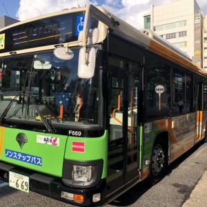 都営バス 築地駅前から亀戸駅前まで 錦11系統 路線バス乗車記