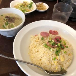 半蔵門 台湾食堂 台湾腸詰炒飯と担仔麺 デザートに愛玉子ランチセット