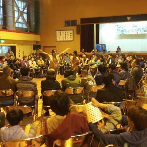 障がい者主体の音楽フェスティバルに、私たちのドラムサークル「ハートビート」が、参加しました。