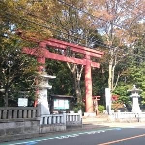 世田谷八幡宮にも行った