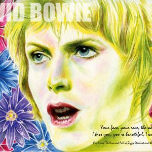 1月8日、Happy Birthday DAVID・BOWIE