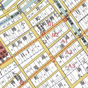 江戸切絵図とgoo地図