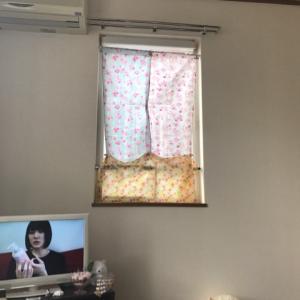 100均DIY♡カーテン作ってみたよ♪