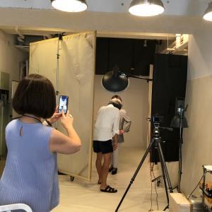 自分を近づけるために写真を変えます!プロによるプロのための撮影会でした