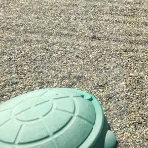 カメさんの砂場プランター