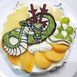 手作り誕生日ケーキ(キャラケーキ)