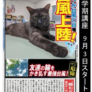 台風10号最悪コース!