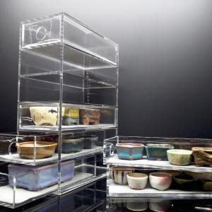 豆鉢保管・飾り棚を用意する
