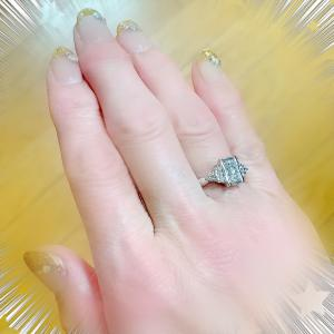 ここぞの時のダイヤの指輪が…❗️