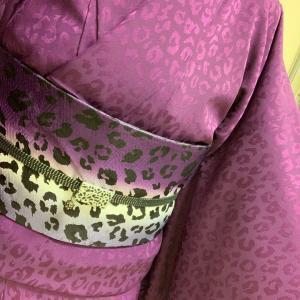 昨日のきものなり…アラカン佳子の着物コーデ