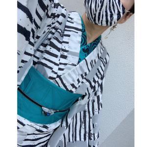 アラカン佳子の着物コーデ…