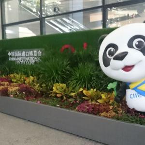 上海浦東国際空港の喫煙所