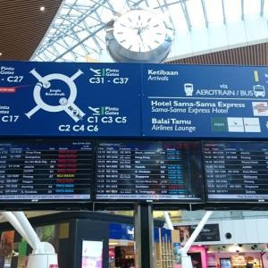 KULから帰国。。。シンガポール航空(SQ)に続きタイ航空(TG)の減便等々に、株価暴落の驚きの週末の出来事!