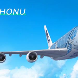 【ANAトラベラーズ】ANA FLYING HONUチャーターフライト 第3弾!===11月15日成田発着のフライングホヌ180分間遊覧飛行の参加者募集中!===