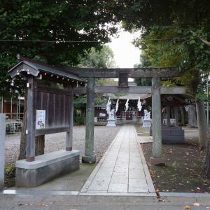 【(東京都)町田散策⑩】森野住吉神社 ===少し市街地から離れた場所にひっそりと===