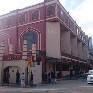 【シンガポール観光】リトルインディアにある小さなモスク!マスジッド・アングリア