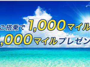 【ANA対象者限定】ANA夏のボーナスマイルキャンペーン!