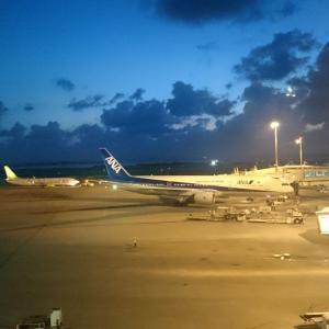 那覇空港2時間30分滞在のOKAタッチ④ 締めはスィートラウンジでブルーシールのアイスクリーム!