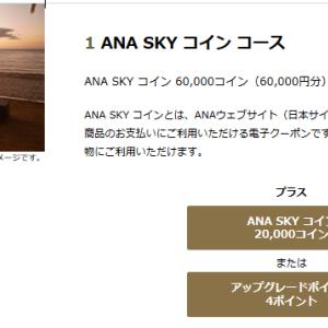 2020年度 ANAダイヤモンドサービスメンバー選択式特典の発表! SKYコインコース新設で上級会員ループにどっぷりかなぁ?