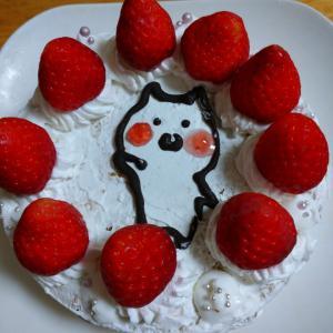 うさまるバースデーケーキ!