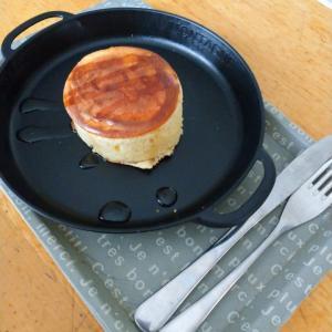 セリアで買ったふわふわ厚焼きホットケーキ型