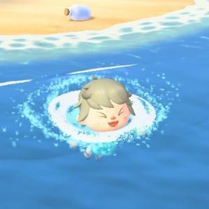 【あつ森】うちの島でも海開き