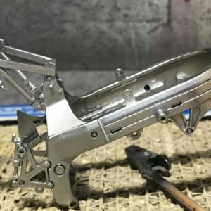 【TAMIYA】1/12 Honda VFR750R(初めてのバイクモデル。。。)