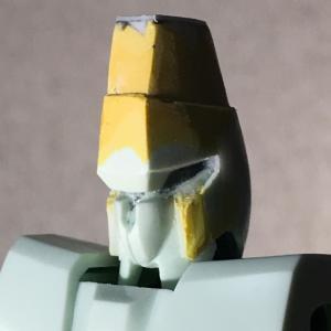 【旧キット】1/144 重装備型エルガイムMK-1(その4:ヘッドパーツの改修。。。)