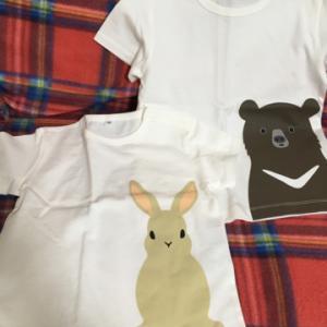 無印のTシャツを買いました