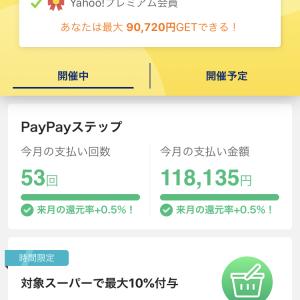 PayPayが4月から基本付与が0.5~1.5%になりました