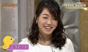 NHK牛田茉友アナが、まさかの純白パンモロ!!!