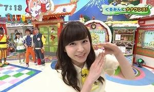 角谷暁子アナはやはり結構巨乳っぽいですよね…