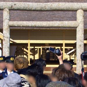 東京で大嘗宮の一般公開を見てきました。