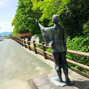 今治大山祇神社の裏にある、入日の滝