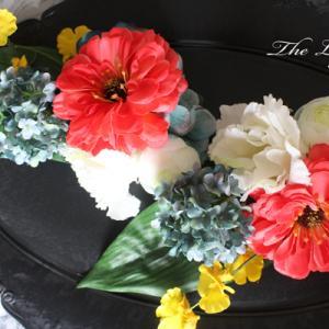 父への仏花