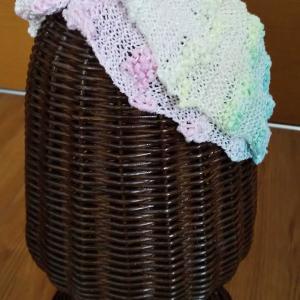 涼しげヘアターバン編みあがりました