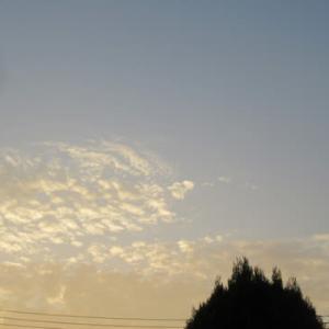 今さっき撮った雲