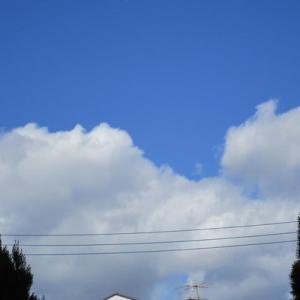 4枚の雲の写真