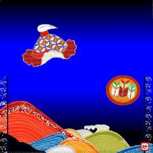 風呂敷(533)碇星(カシオペア)
