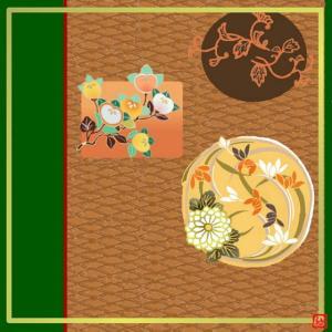風呂敷(576)秋の土
