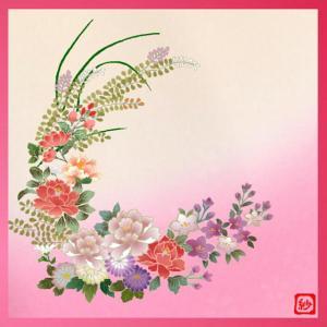 風呂敷(617)花の日