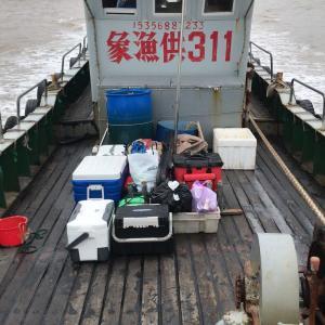 2018年9月21日-23日 漁山列島 鯛とカンパチ