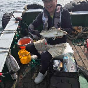 2019年7月5日-7月7日 漁山列島 スランプ スズキ