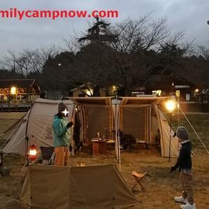 万全の装備でのぞんだ寒波到来の年末キャンプ~恒例の成田ゆめ牧場キャンプ場~