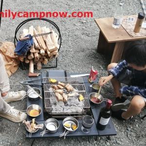 【焚き火囲炉裏テーブルを買うときのポイント】焚き火を囲いながらのお食事が格段に楽になりました♪